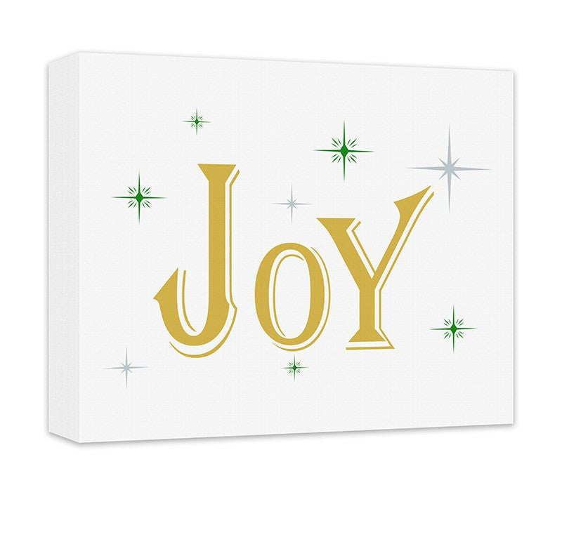 Joy I Canvas Wall Art - WallLillies