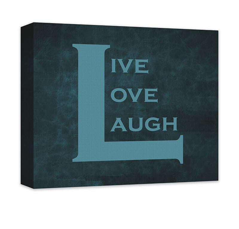 Live Love Laugh II Canvas Wall Art - WallLillies