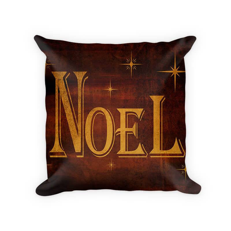 Noel I Woven Cotton Throw Pillow - WallLillies