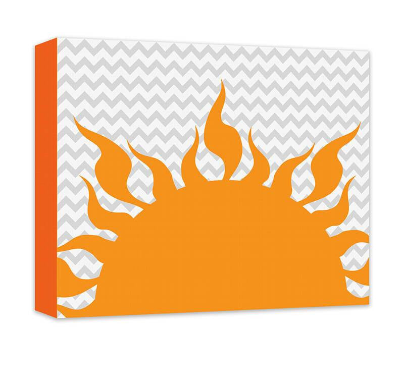 Sunrise Children's Canvas Wall Art - WallLillies