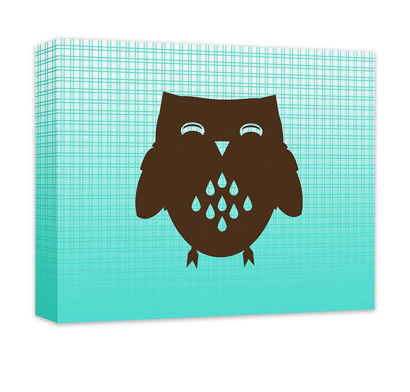 Owl II Children's Canvas Wall Art