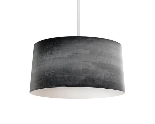 Gray Grunge Pendant Lamp - WallLillies