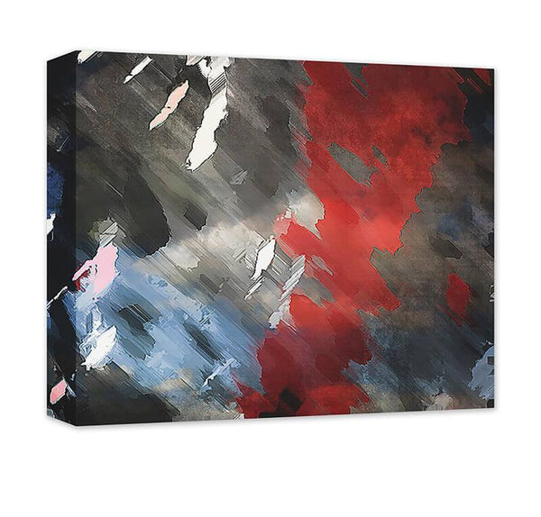 Perfect Storm Abstract I Canvas Wall Art