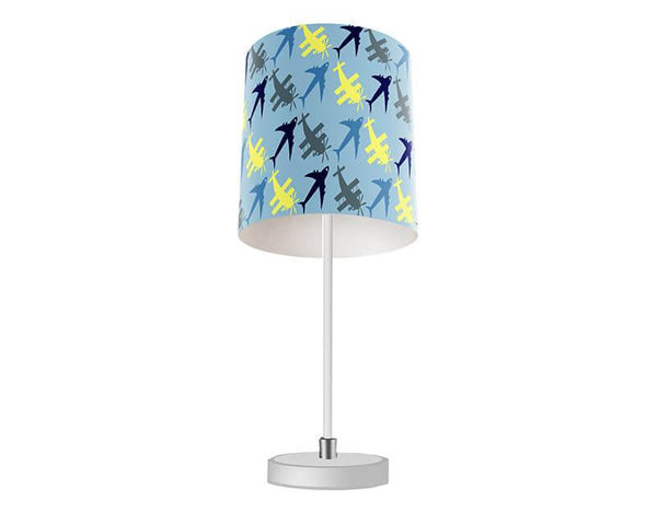 Planes Pattern Table Lamp