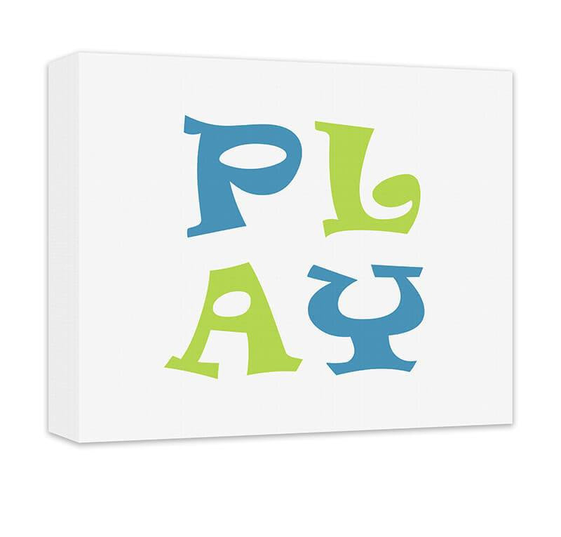 Play II Children's Canvas Wall Art - WallLillies