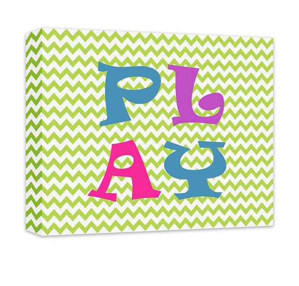 Play II Children's Canvas Wall Art