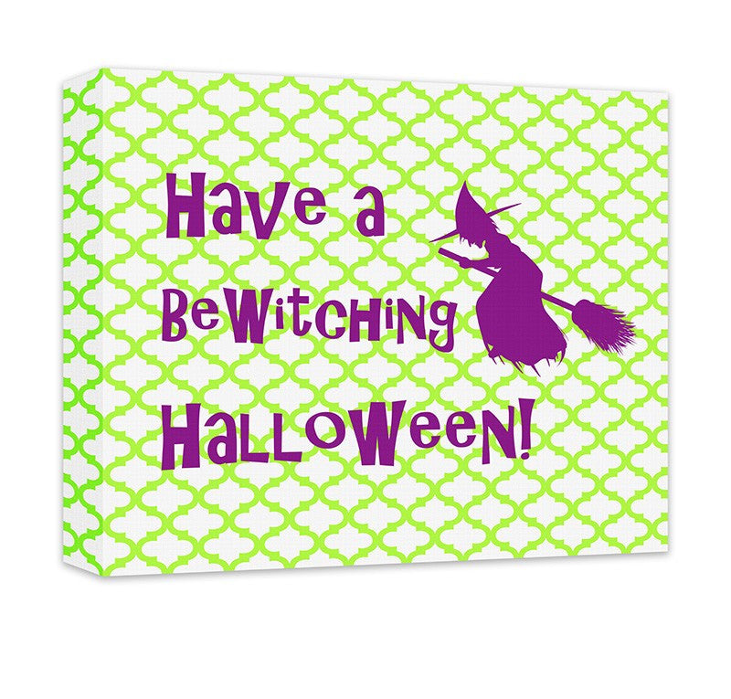 BeWitching Halloween Canvas Wall Art - WallLillies