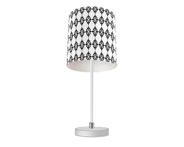 Quatre Fleur de Lis Pattern Table Lamp