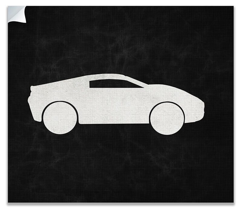 Sports Car Print Wall Art