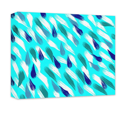 Abstract Raindrops in the Wind Canvas Wall Art