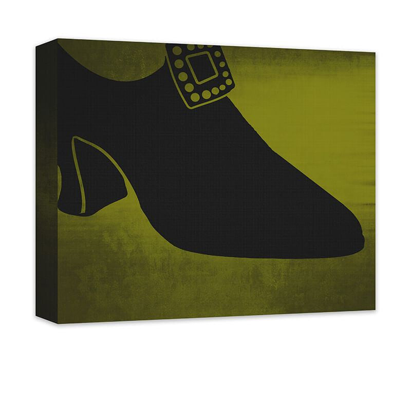 Shoe Fashion III Canvas Wall Art - WallLillies