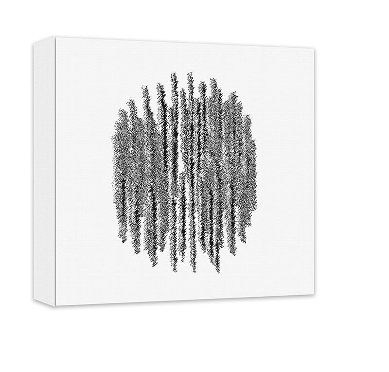 Frequency Abstract Canvas Wall Art - WallLillies