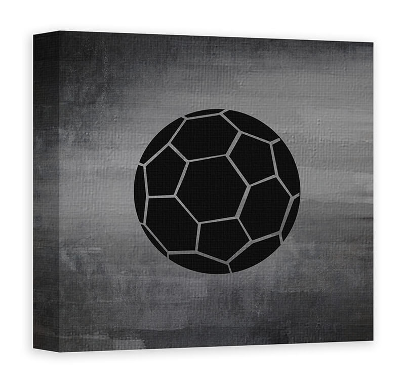 Delicieux Soccer Ball Canvas Wall Art