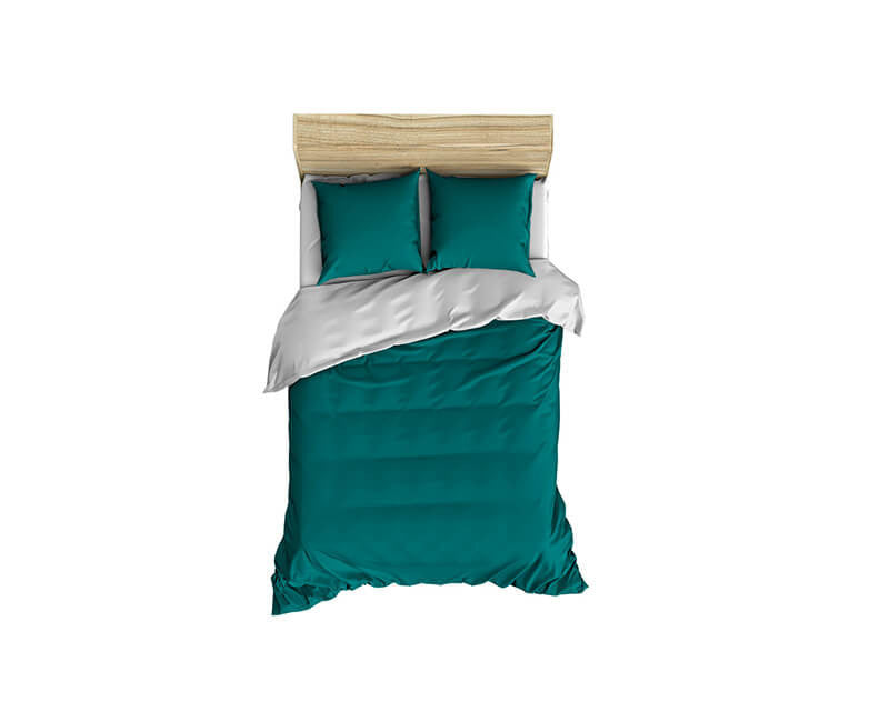 Solid Teal Small Comforter - WallLillies