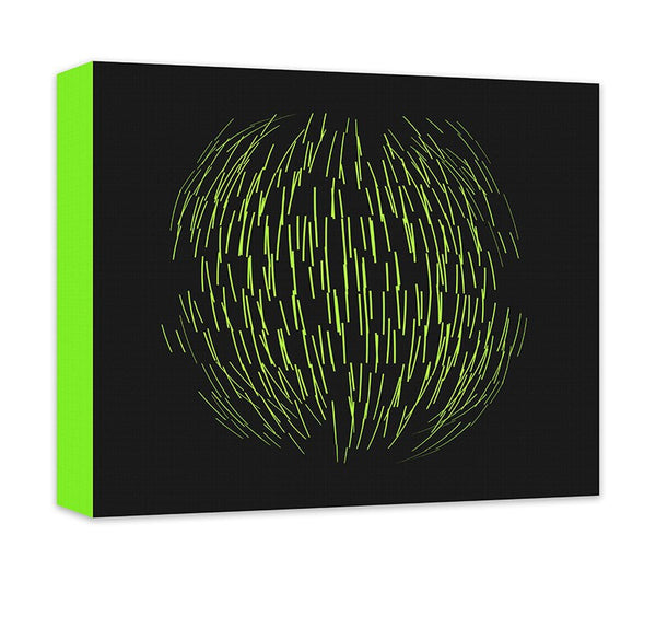 Sphere Abstract Canvas Wall Art - WallLillies