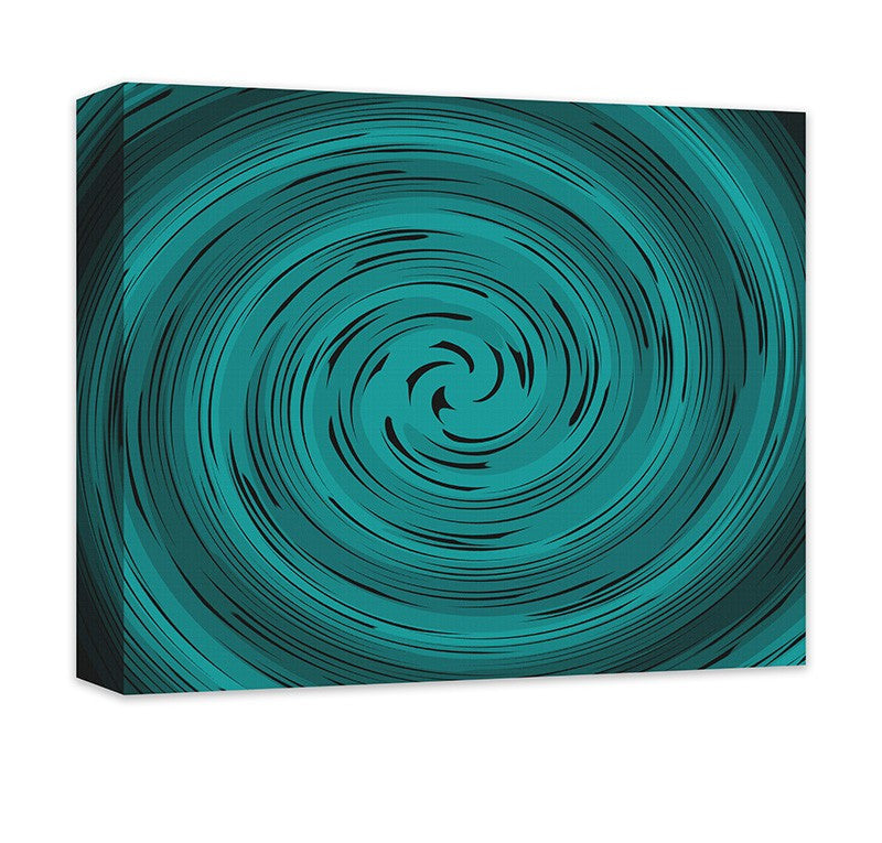 Spiral Vortex Abstract Canvas Wall Art - WallLillies