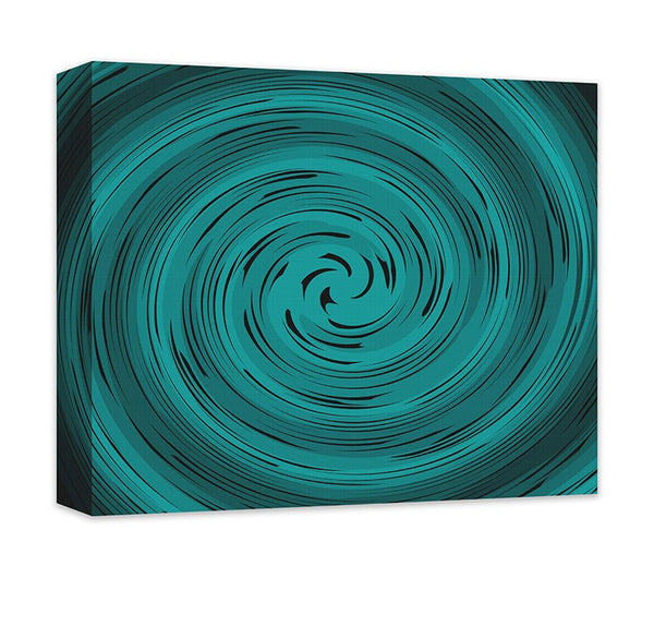 Spiral Vortex Abstract Canvas Wall Art