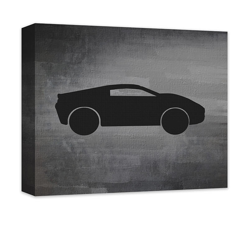 Sports Car Canvas Wall Art