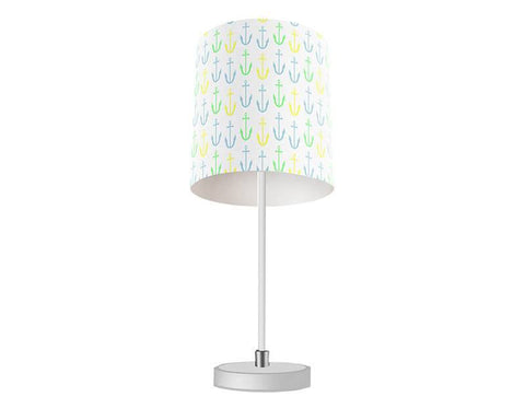 Anchor Pattern Table Lamp