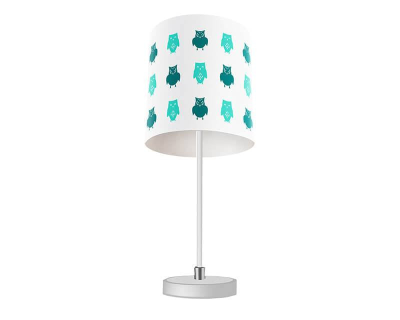 Owls Pattern Table Lamp