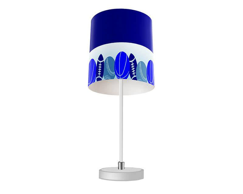 Sports Collage Table Lamp