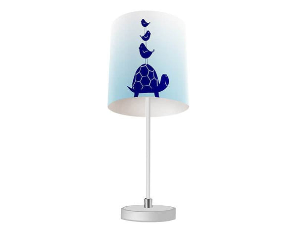 Turtle and Little Birdies Table Lamp