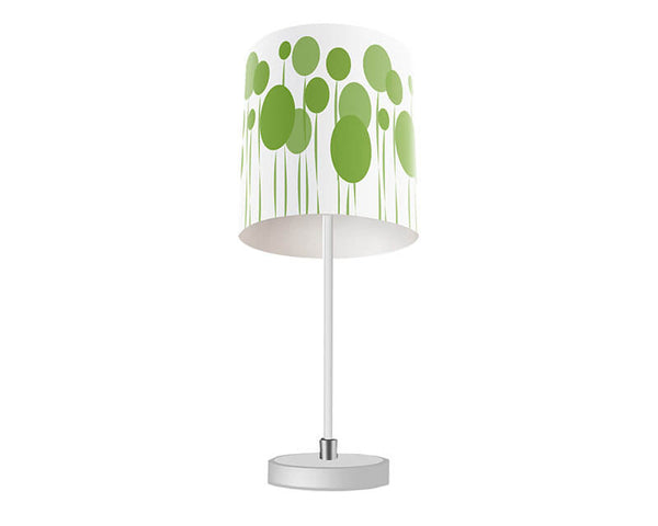 Abstract Dandelions Table Lamp - WallLillies