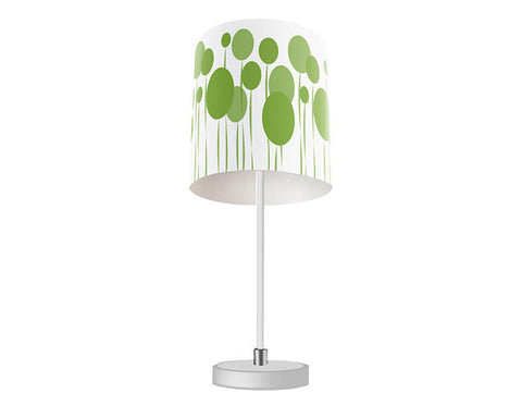 Abstract Dandelions Table Lamp
