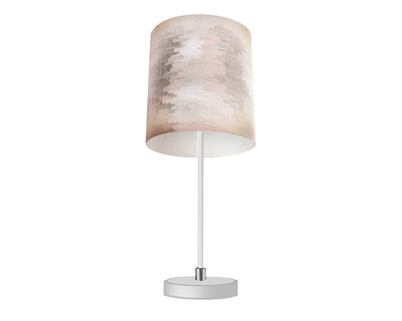 Brushed Screen Table Lamp - WallLillies