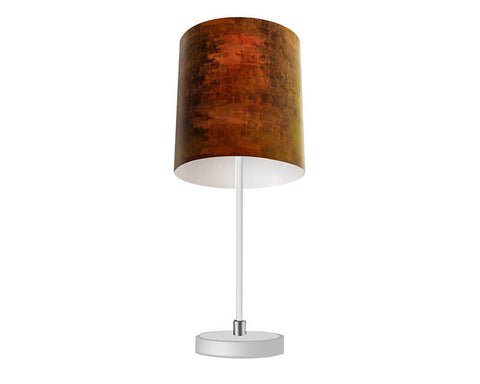 Suede Croc Table Lamp