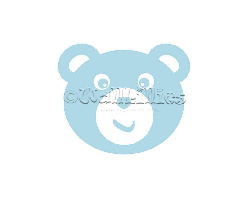 Teddy Bear Decal - WallLillies