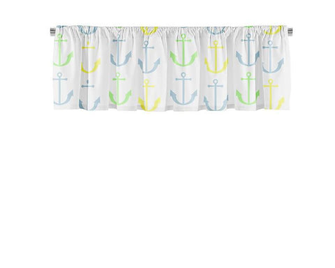 Anchor Pattern Valance