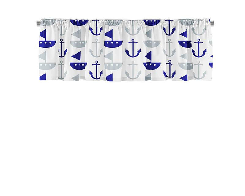 Boat and Anchor Valance - WallLillies