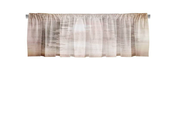 Brushed Screen Valance