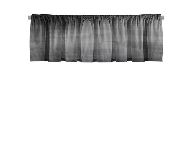 Gray Grunge Valance - WallLillies