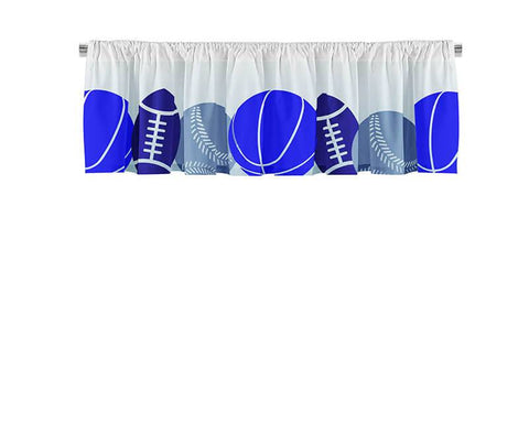 Sports Collage Valance