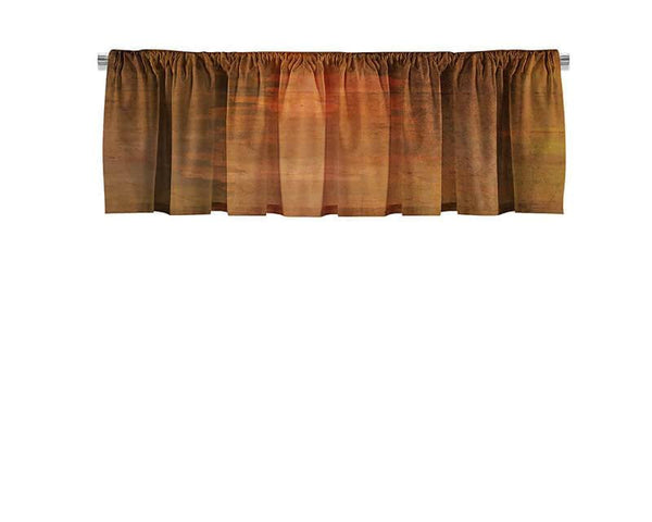 Warm Concrete Valance