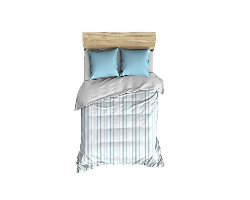 Vertical Stripes Pattern Small Comforter - WallLillies