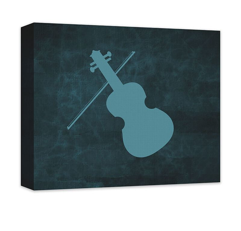 Violin Canvas Wall Art - WallLillies
