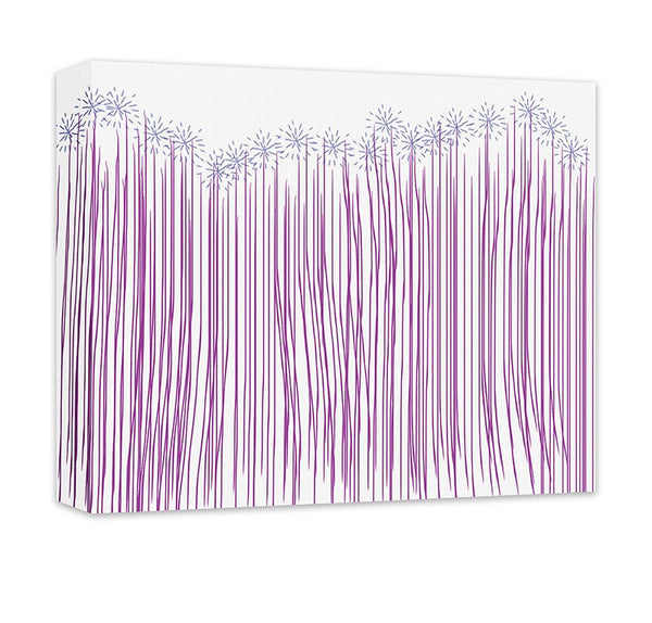 Whimsical Forest Canvas Wall Art - WallLillies