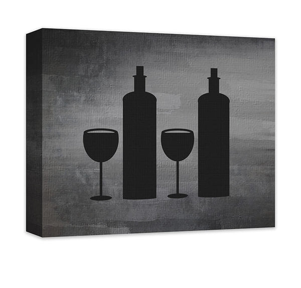 Wine Duo Canvas Wall Art - WallLillies