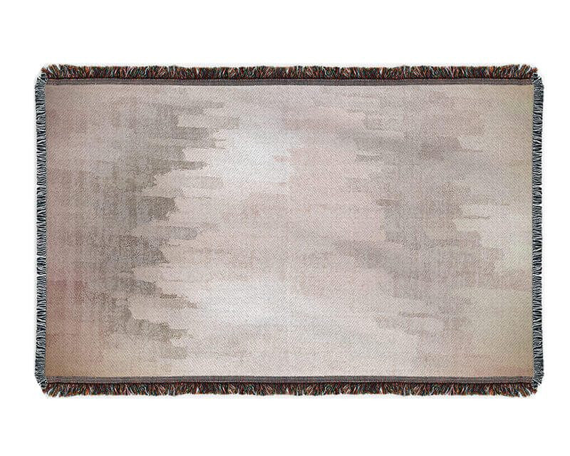 Brushed Screen Woven Blanket - WallLillies