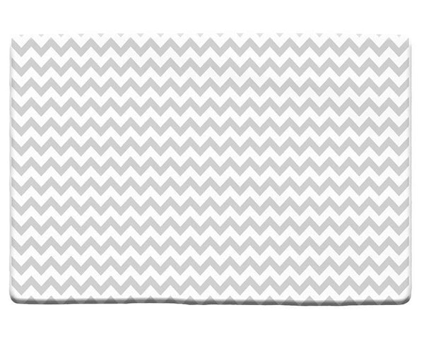 Chevron Large Pattern Plush Rug
