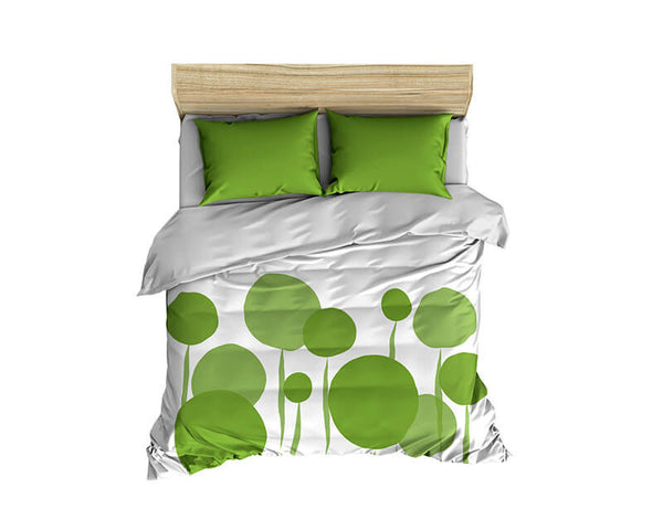 Abstract Dandelions Comforter - WallLillies
