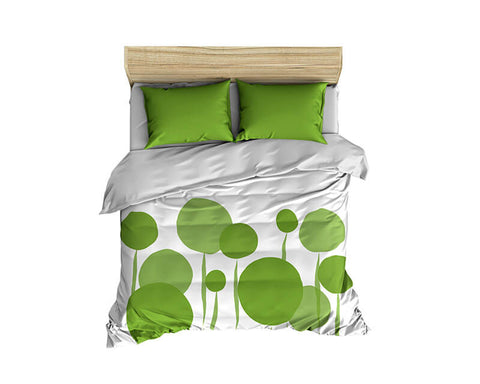 Abstract Dandelions Comforter