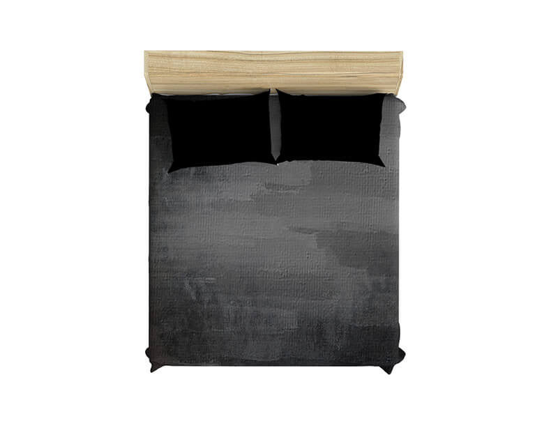 Gray Grunge Duvet Cover - WallLillies