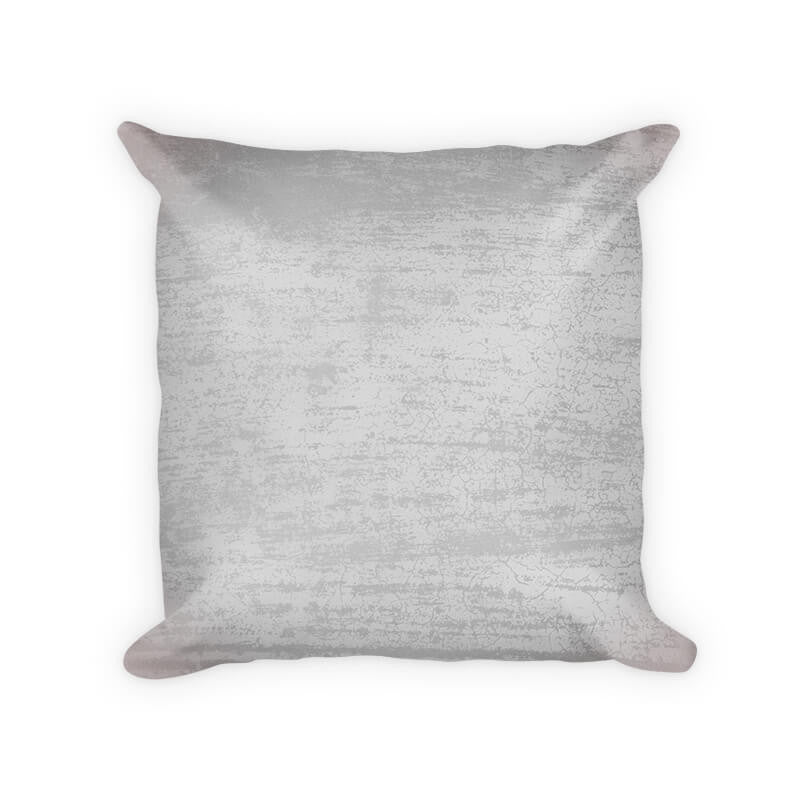 Gray Concrete Woven Cotton Throw Pillow