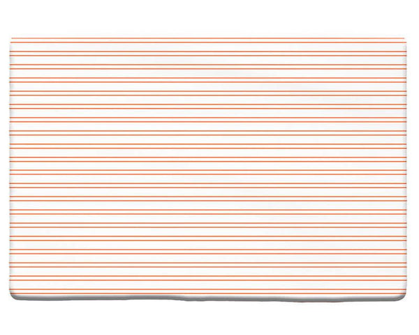 Horizontal Stripes Pattern Plush Rug - WallLillies