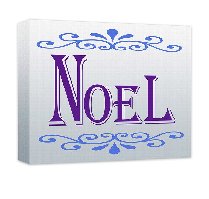 Noel II Canvas Wall Art - WallLillies