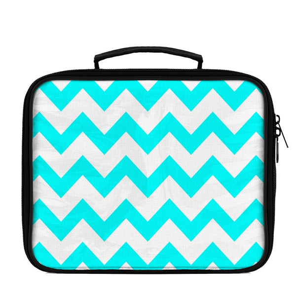 Chevron Large Scale Pattern Lunch Box - WallLillies